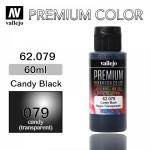 [62079] Premium _ 60ml _ Candy Black